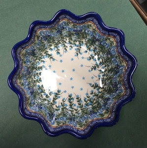 Large Quiche Pie Baker by Lidia's Polish Pottery