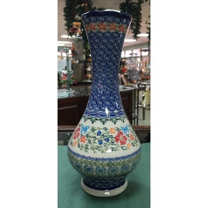 Swirl Vase by Lidia's Polish Pottery