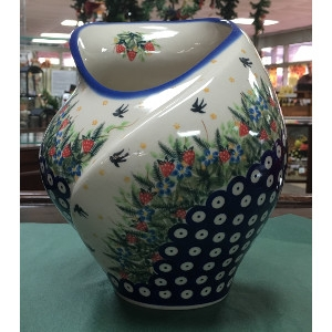 Tulip Vase by Lidia's Polish Pottery
