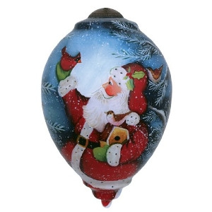 Santa's Woodland Friends Ornament