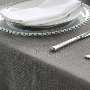90-Inch round Polyester Table Linen