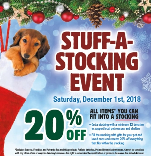 Stuff-A-Stocking Event