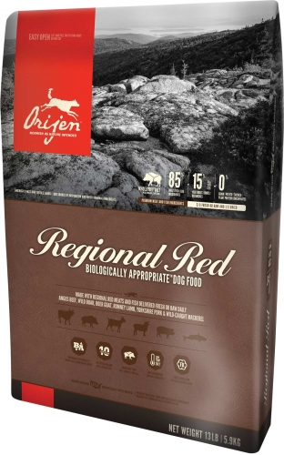 Orijen Adult Dog Regional Red Dry Formula