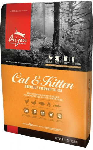 Orijen Cat and Kitten Dry Food