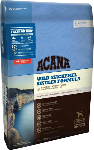 ACANA Singles Wild Mackerel Dog Food