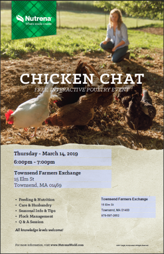 Farmers Exchange Chicken Chat