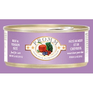 Fromm Four Star Cat Beef & Venison Pâté
