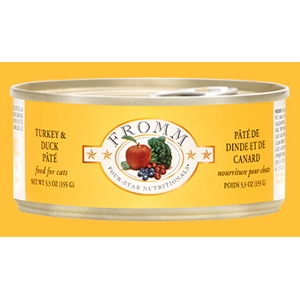 Fromm Four Star Cat Turkey & Duck Pâté