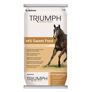 Nutrena Triumph 14% Sweet Horse Feed