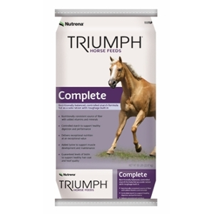 Nutrena Triumph Complete Horse Feed
