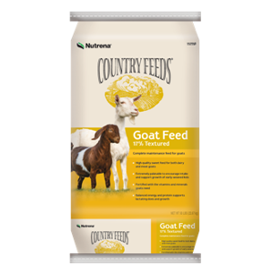 Nutrena Country Feeds 17% Textured Goat Feed