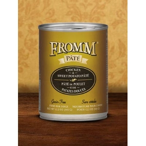 Fromm Chicken & Sweet Potato Pate Dog Food