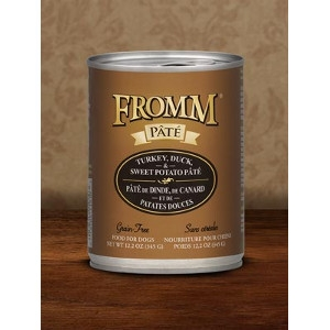 Fromm Turkey, Duck & Sweet Potato Pate Dog Food