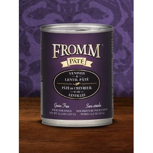 Fromm Venison & Lentil Pate Dog Food