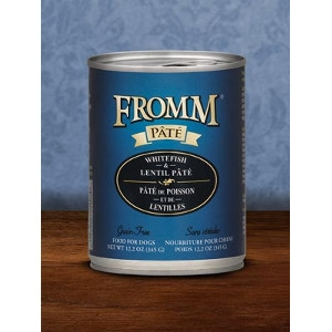Fromm Whitefish & Lentil Pate Dog Food