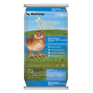Nutrena NatureWise Chick Starter Grower Feed Medicated