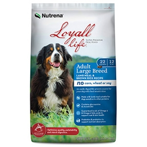 Nutrena Loyall Life Adult Large Breed Lamb Meal & Rice