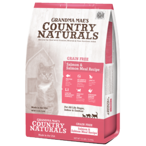 Grain Free Salmon Meal Recipe for Cats & Kittens