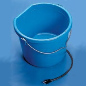 Allied Precision 20 quart Flat Back Heated Bucket