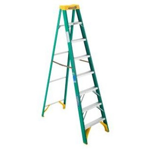 8 Ft. Fiberglass Step Ladder