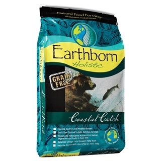 Earthborn Holistic Coastal Catch Natural Grain-Free Dry Dog Food, 28 lbs.