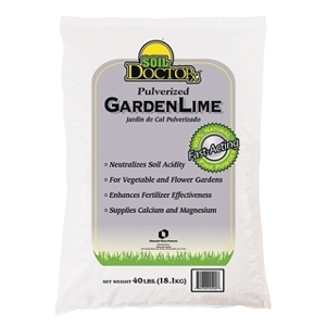 Soil Doctor Pulverized Garden Lime 50 lb