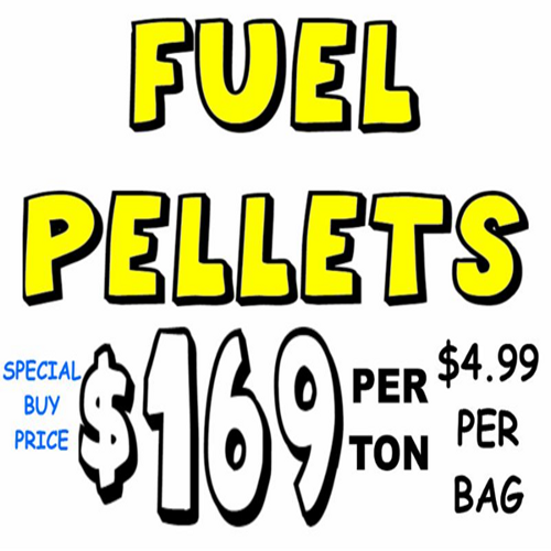 Premium Quality Fuel Pellets - $169