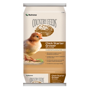 Country Feeds Chick Starter/Grower 18%