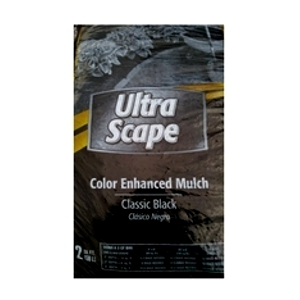 Ultra Scape Color Enhanced Black Mulch