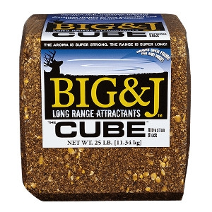 BIG&J Deer Supplement Block 25 Pound