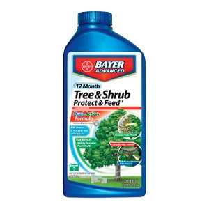 Bayer Advanced Protect & Feed Insect Killer and Fertilizer For Caterpillars and Moths Concentrate