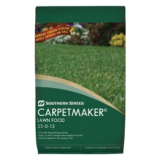 Southern States Carpetmaker Lawn Food 25-0-13 15M