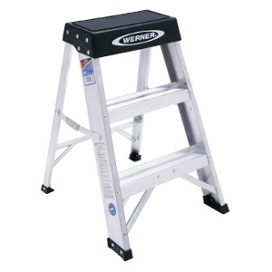 Werner 2 ft. Aluminum Step Ladder