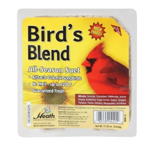Heath Bird's Blend Songbird Suet 11.25 oz.