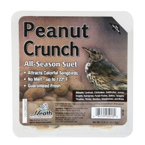 Heath Peanut Crunch Songbird Suet 11.25 oz.