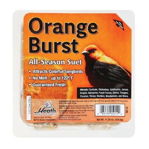 Heath Orange Burst Songbird Suet 11.25 oz.