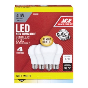 Ace LED Light Bulb 40 Watt