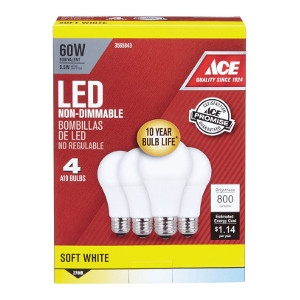 Ace LED Light Bulb 60 Watt