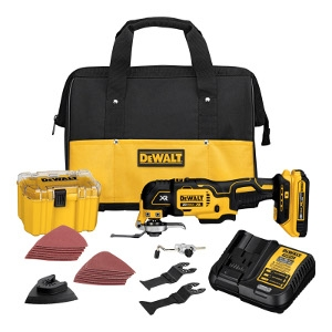 DeWalt Max XR Cordless Oscillating Tool Kit