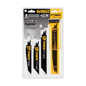 DeWalt Bi-Metal Reciprocating Saw Blade Set 8pk