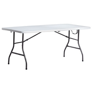 Living Accents Rectangular Fold-in-Half Table