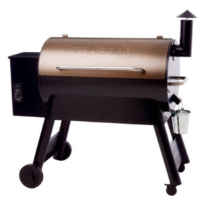 Traeger Pro Series 34 Wood Pellet 49 in. H Grill