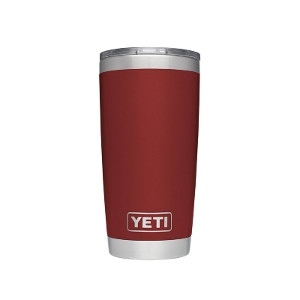 YETI Brick Red Rambler 20oz