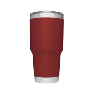 YETI Brick Red Rambler 30oz