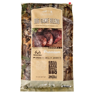 Traeger Realtree Big Game Blend Hardwood Pellets 33lb