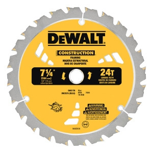 DeWalt Carbide Tip Circular Saw Blade For Framing/Ripping