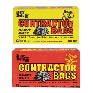 Contractor Trash Bags Now $9.99