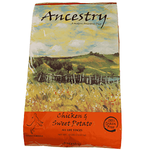 Ancestry Chicken & Sweet Potato Dog Food
