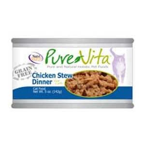 PureVita Chicken Stew Dinner For Cats
