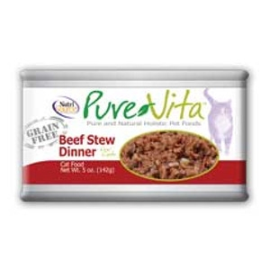 PureVita Beef Stew Dinner For Cats